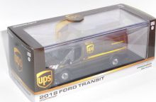 Ford Transit High Top UPS Logistics Collectors Model Scale 1/43 GL86169 P